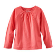 OshKosh B'gosh® Long-Sleeve Jersey Knit Tee – Girls 2t-4t
