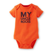 Carter's® Short-Sleeve My Uncle Rocks Bodysuit – Boys newborn-24m