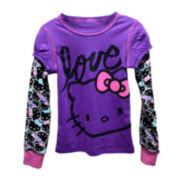 Hello Kitty® Long-Sleeve Doubler Tee - Girls 7-16