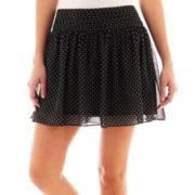 Olsenboye® Polka Dot Print Flippy Skirt