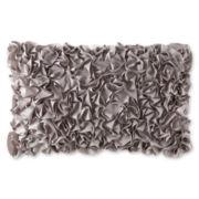 Liz Claiborne® Rose Jacquard Oblong Decorative Pillow