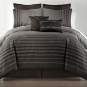 Studio™ Allison Striped 4-pc. Comforter Set