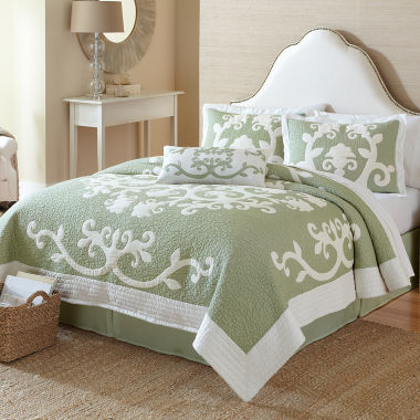 jcpenney.com | Aliani Scroll Applique Quilt & Accessories