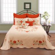 June Floral Appliqué Quilt & Accessories