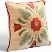 June Square Decorative Pillow