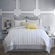 Piper Chain-Linked Embroidered Quilt & Accessories