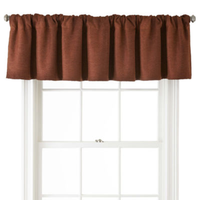 JCPenney Home™ Monroe Tweed Rod-Pocket Tailored Valance