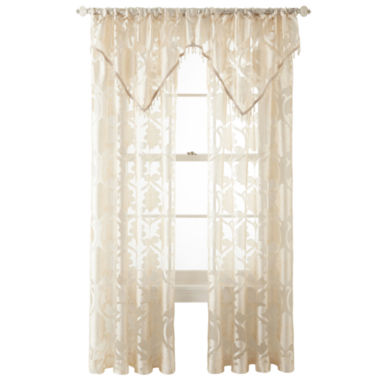 jcpenney.com | Royal Velvet® Belgravia Rod-Pocket Window Treatments