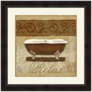Neutral Bath II Framed Wall Art