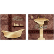 Relax and Refresh 2-pc. Wall Decor Set