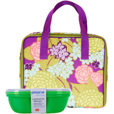 jcpenney.com | BlueAvocado® Insulated Lunch Carrier + Fold-Out Mat