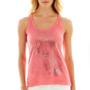 i jeans by Buffalo Feather Print Racerback Tank Top