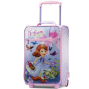 "American Tourister® Disney Sofia the First 18"" Carry-On Upright Luggage"