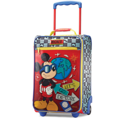 "jcpenney.com | American Tourister® Disney Mickey Mouse 18"" Carry-On Upright Luggage"