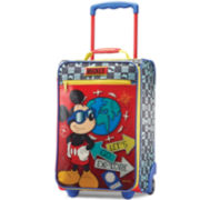 "American Tourister® Disney Mickey Mouse 18"" Carry-On Upright Luggage"