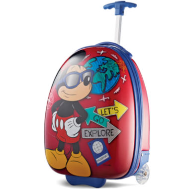 "jcpenney.com | American Tourister® Disney Mickey Mouse 16"" Carry-On Hardside Upright Luggage"