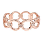 Worthington® Rose-Tone Stretch Link Bracelet