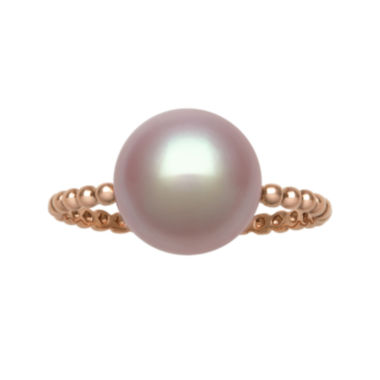 jcpenney.com | Cultured Freshwater Pink Pearl 14K Rose Gold Beaded Ring