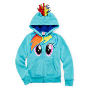 My Little Pony Rainbow Dash Fleece Hoodie - Girls 7-16