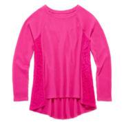 Arizona Lace-Inset Thermal Tunic - Girls 7-16 and Plus