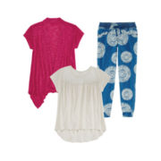 Arizona Lace Tee, Cozy or Jogger Pants - Girls 7-16