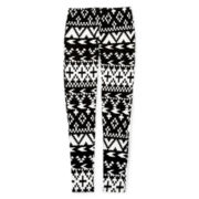 Arizona Printed Leggings - Girls 7-16 and Plus