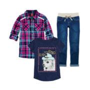 Arizona Tee, Top or Cropped Jeans - Girls 7-16