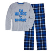 Arizona Allergic to Mornings Pajama Set - Boys 4-20