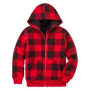 Arizona Sherpa-Lined Fleece Hoodie - Boys 8-20 and Husky
