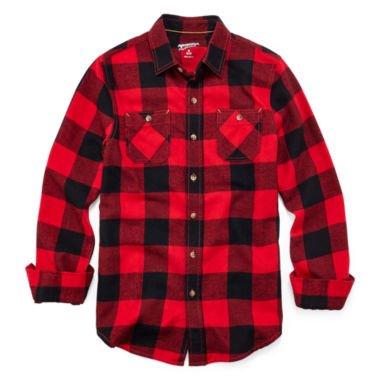 jcpenney.com | Arizona Flannel Shirt - Boys 8-20 and Husky