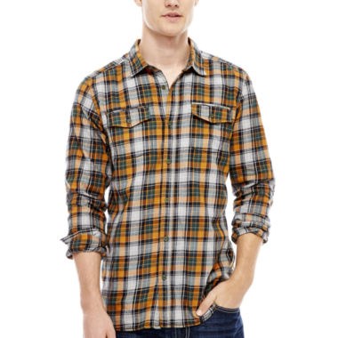 jcpenney.com | i jeans by Buffalo Mimbo Long-Sleeve Woven Shirt