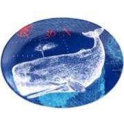Certified International Pier 45 Oval Platter