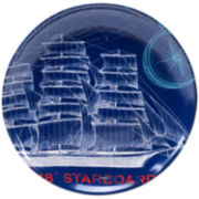 Certified International Pier 45 Round Platter
