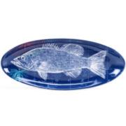 Certified International Pier 45 Fish Platter
