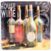 Certified International House Wine Square Platter
