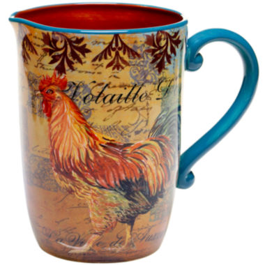 jcpenney.com | Certified International Rustic Rooster Pitcher