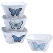 Certified International Tuileries Garden Set of 4 Ice Cream Bowls