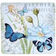 Certified International Tuileries Garden 14¼x14¼ Square Platter