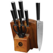 Ginsu® Chikara Series 8-pc. Stainless Steel Forged Knife Set