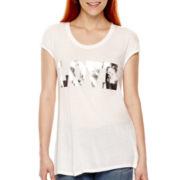 a.n.a® Short-Sleeve Novelty Muscle T-Shirt