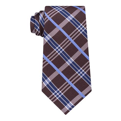 Stafford Super Shirt 1 Spinner Plaid Tie