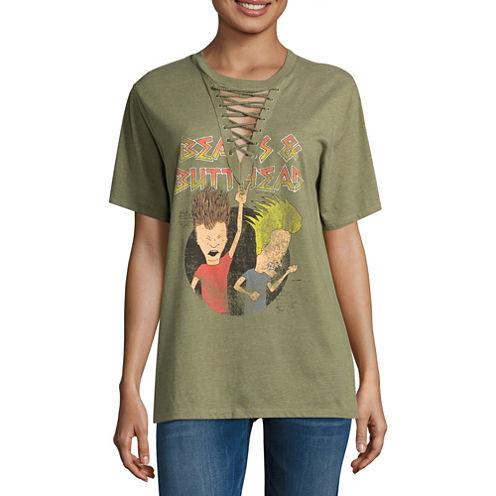 Beavis and Butthead Graphic T-Shirt- Juniors