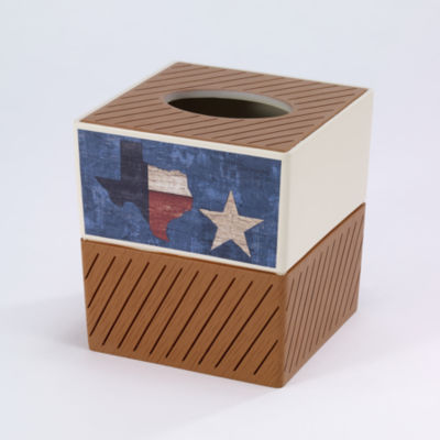 Avanti Home Sweet Texas Tissue Box Cover