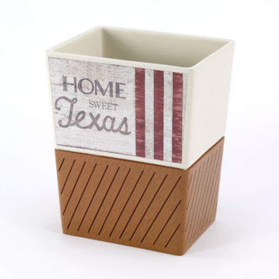Avanti Home Sweet Texas Waste Basket