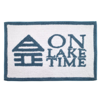 Avanti Lake Words Bath Rug