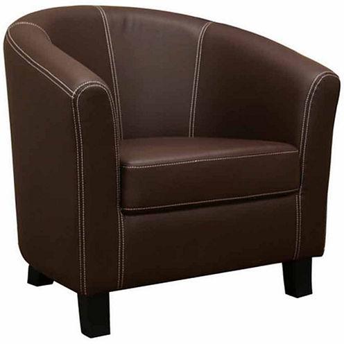 Baxton Studio Elijah Club Chair