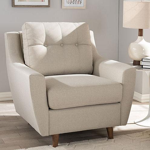 Baxton Studio Mckenzie Club Chair