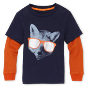 Little Maven™ by Tori Spelling Long-Sleeve Layered Tee - Boys 12m-6y
