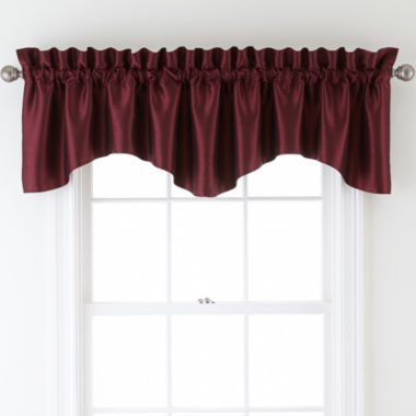 jcpenney.com | Sutton Place Antique Satin Rod-Pocket Valance