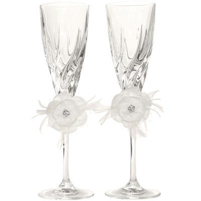 Ivy Lane Design™ Somerset Set of 2 Champagne Flutes